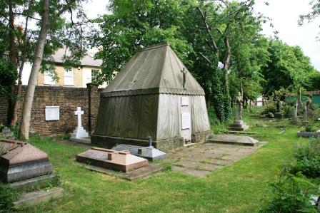Richard Burton's tomb.