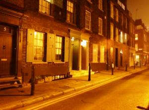 Fournier Street in Jack the Ripper's London.