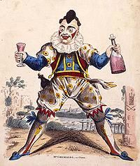 The father of modern clowns Joseph Grimaldi.