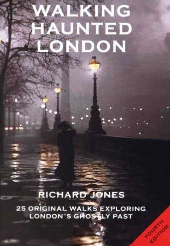 Walking Haunted London Book Cover